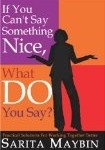 Book Cover If You Cant Say Something Nice 105x150 Books & Products